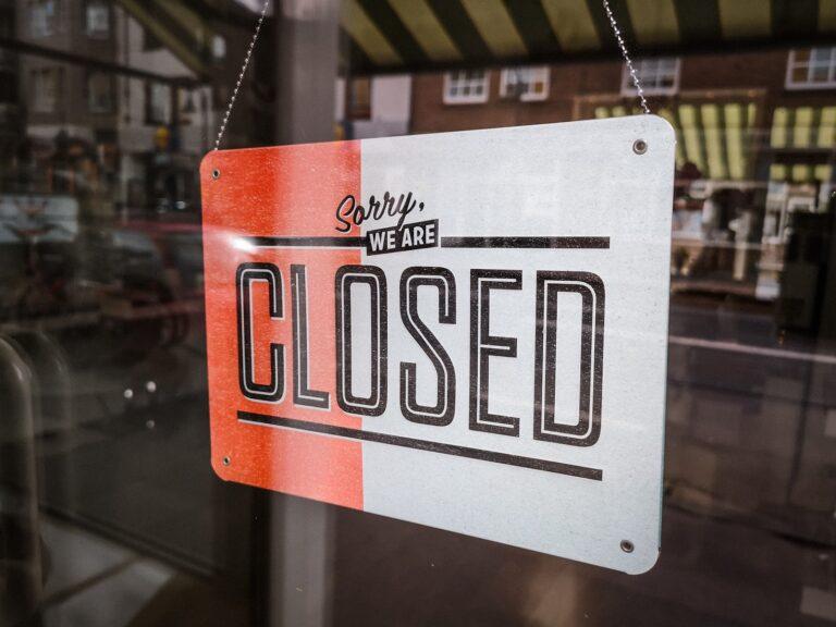 Covid 19 Closed
